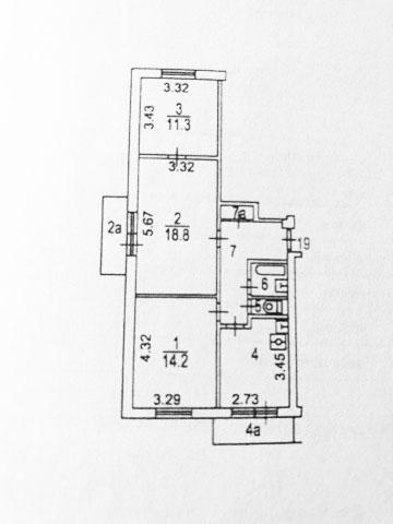 Пример плана БТИ